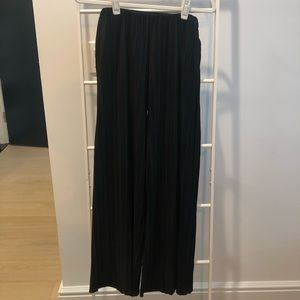 & OTHER STORIES Pleated Pants in Black